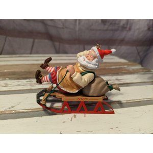 Hallmark Keepsake 2005 Toymaker Santa On Sled 6th